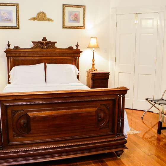 Hubbard Mansion Bedroom