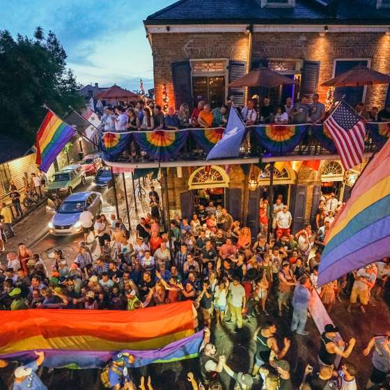 Gay Pride Parade 2015 on Bourbon Street