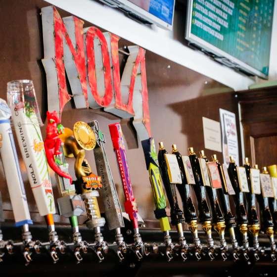 Schankraum der NOLA Brewery