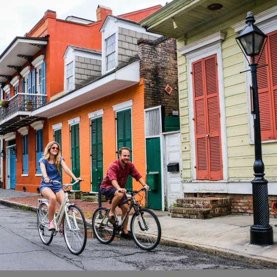 French Quarter Biking