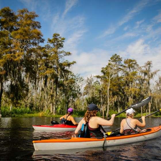 Lost Lands Kayak Tour