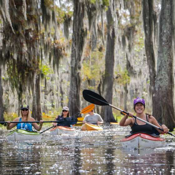 Excursion en kayak Lost Lands Tours