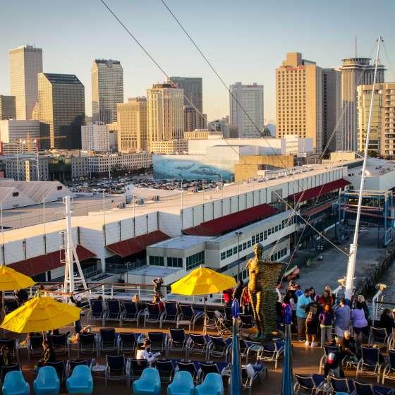 Croisière au départ de La Nouvelle-Orléans