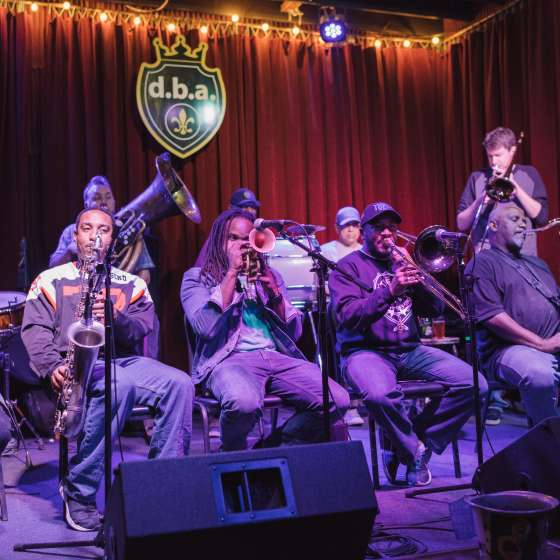 Treme Brass Band no DBA