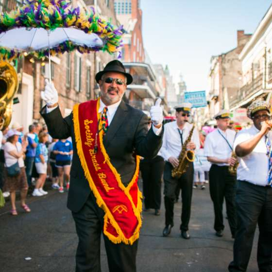 French Quarter Festival- Society Brass Band