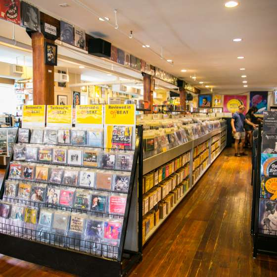Louisiana Music Factory- Records Store