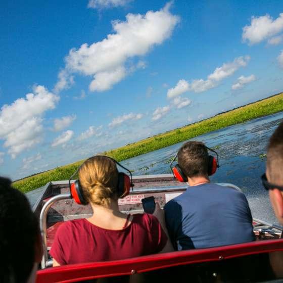 Visita a los pantanos Jean Lafitte