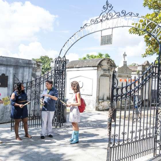 Visite du cimetière Lafayette