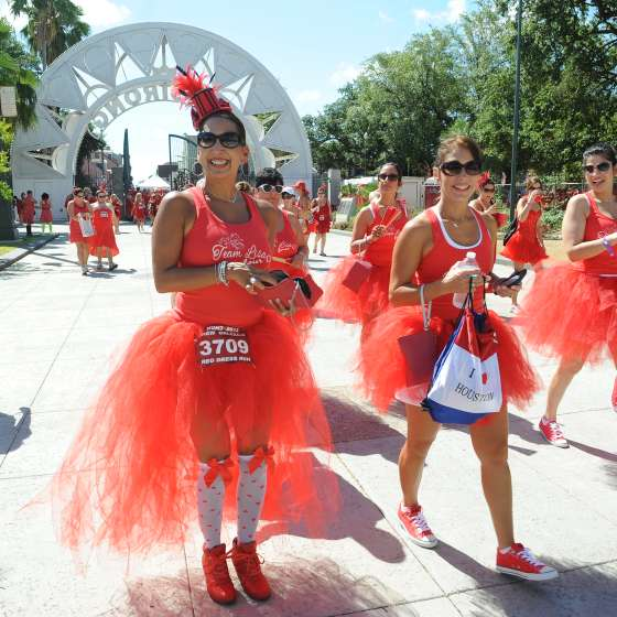 Red Dress Run 2013