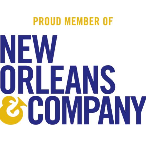 New Orleans & Company Member Logo Stacked