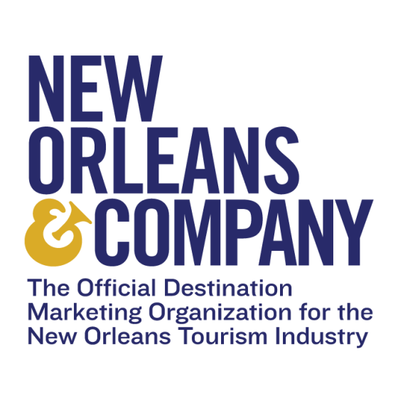 New Orleans & Company Logo Stacked Tag PNG