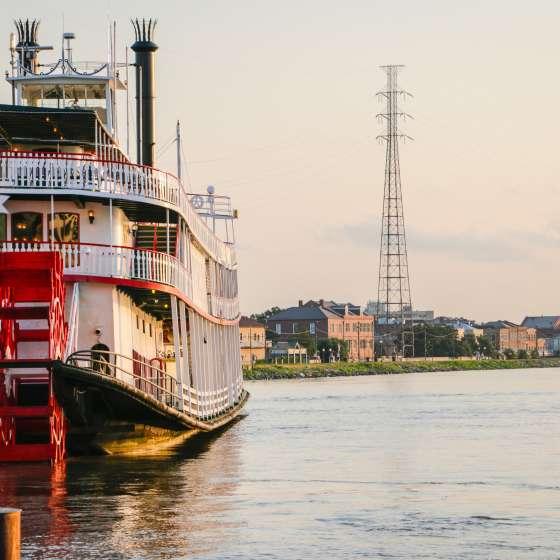 Barco a vapor Natchez