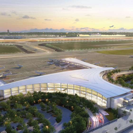 The New Louis Armstrong International Airport (Rendering)