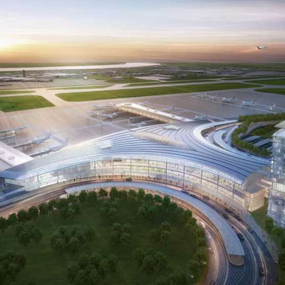 Louis Armstrong International Airport Tricentennial Expansion