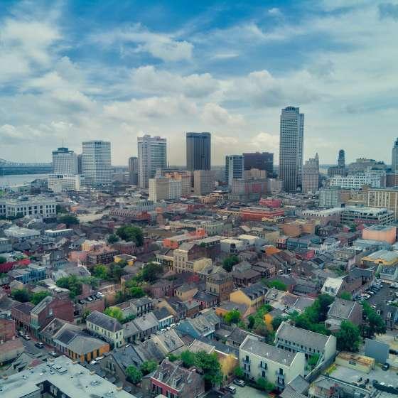 Skyline de La Nouvelle-Orléans