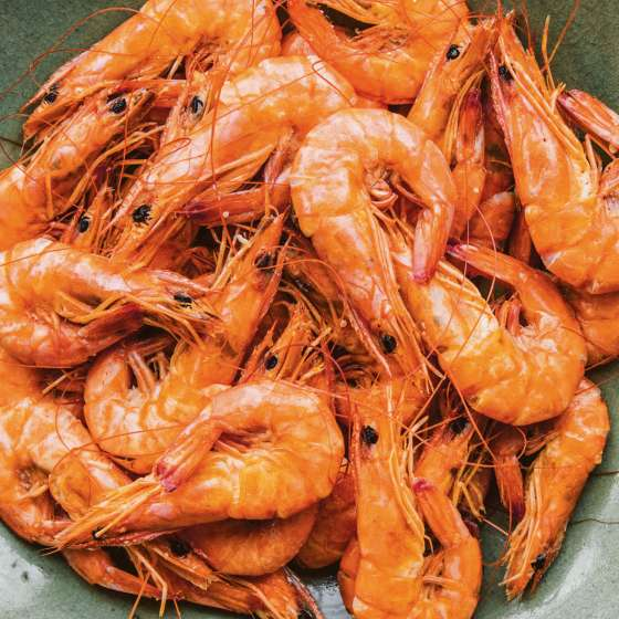 Boiled Shrimp - Mosquito Supper Club