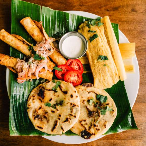 La Macarena Pupuseria & Latin Cafe