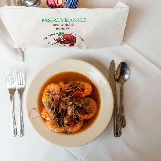 Pascal's Manale BBQ Shrimp