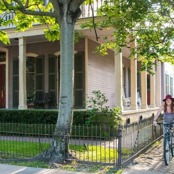 Biking in New Orleans