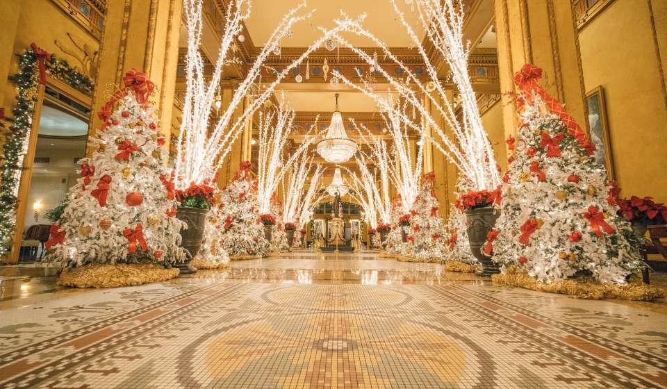 Roosevelt Hotel Winter Wonderland
