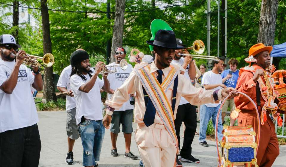 Second Line - Jazz in the Park