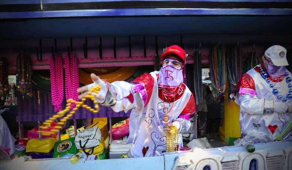 Desfile de Mardi Gras Bacchus