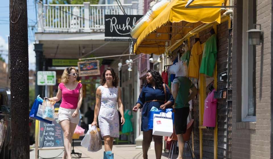Shopping on Magazine Street