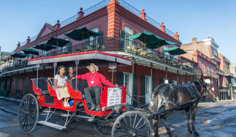 830e11f4dd8 Carriage tours show off New Orleans scenery and history at a leisurely pace