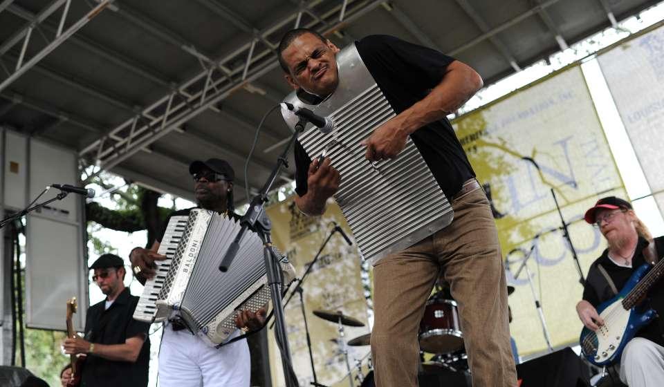 Louisiana Cajun-Zydeco Festival