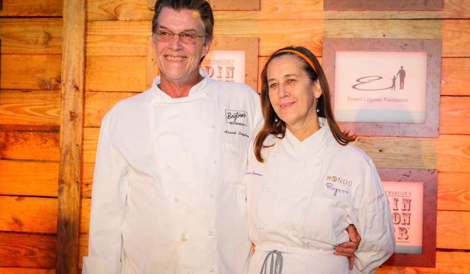 Chef Susan Spicer (with Chef Frank Brigtsen)