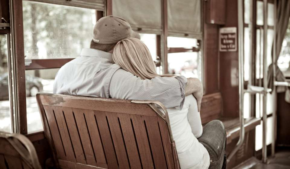Couple on Streetcar