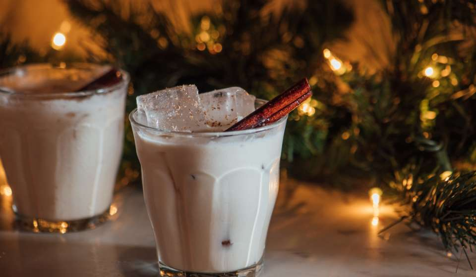 Brown Butter Bourbon Milk Punch