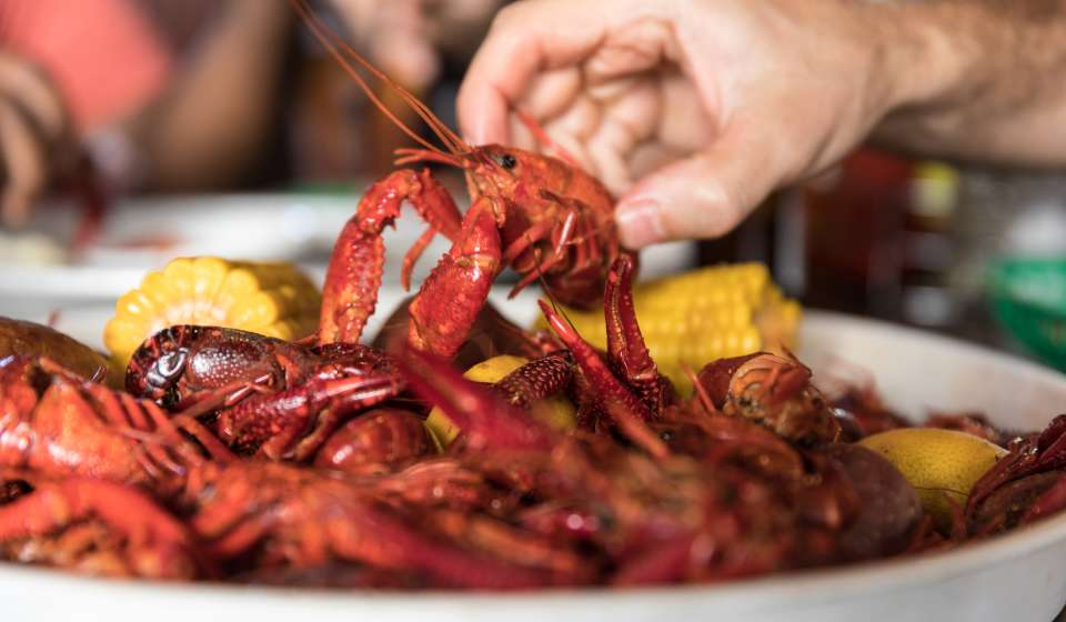 Boiled Crawfish - Frankie and Johnny's
