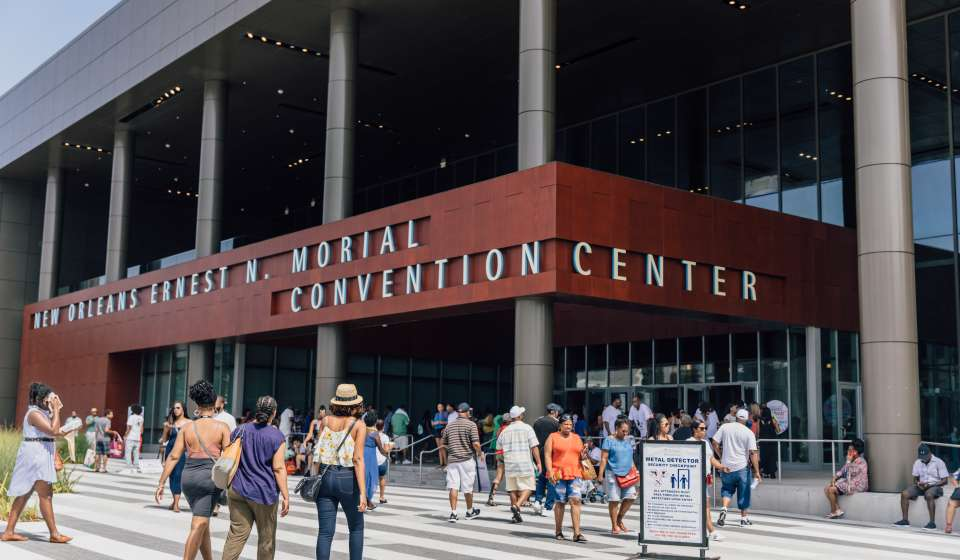 Essence Fest Attendees at the Convention Center