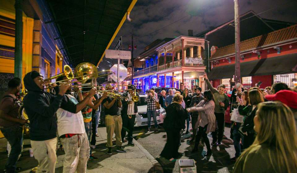 Frenchmen Street Brass Band