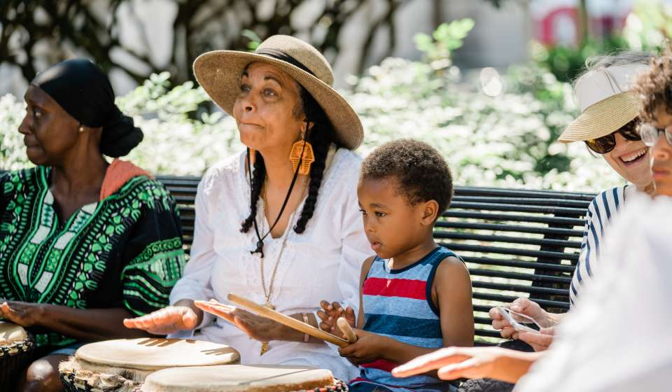 Juneteenth Drumming in Congo Square