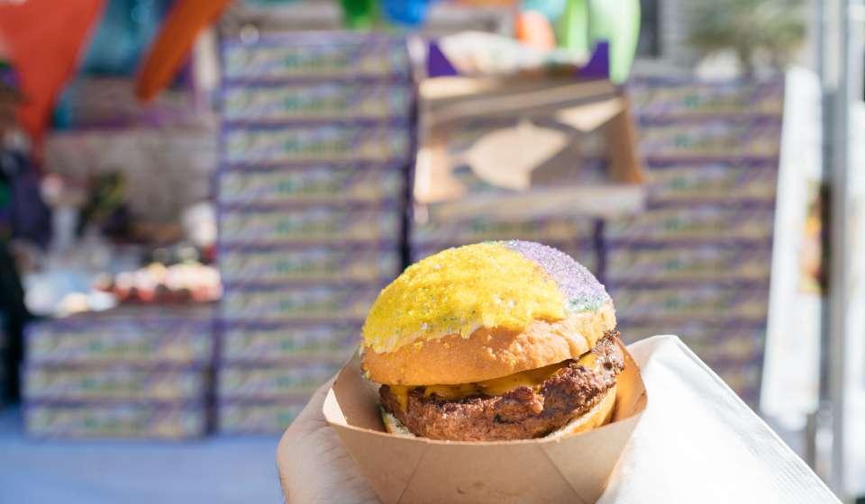 King Cake Burger - King Cake Festival