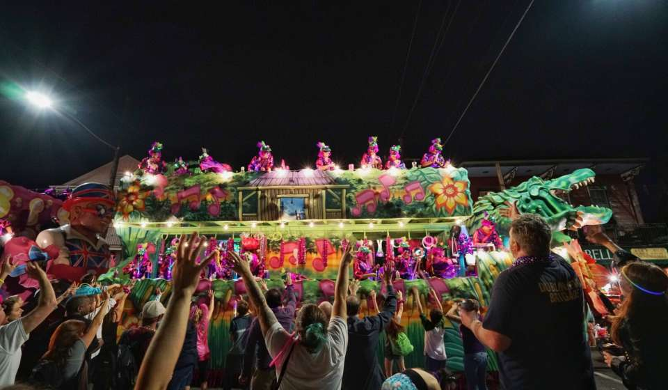 Krewe of Nyx Parade