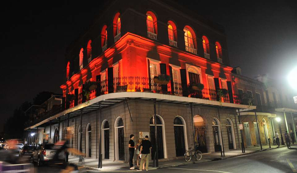 LaLaurie Mansion at Halloween