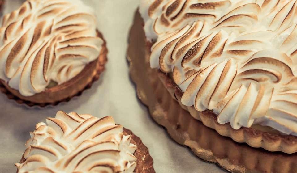 Lemon Meringue Tarts - La Boulangerie