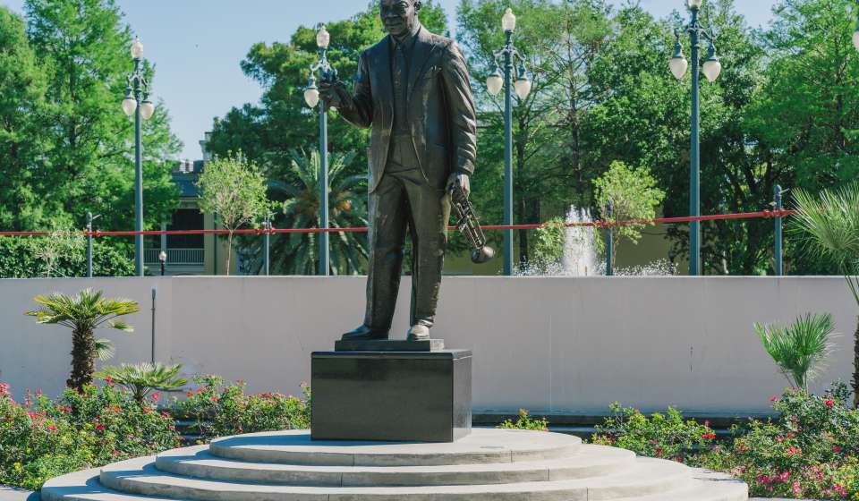 Statue of Louis Armstrong - Armstrong Park