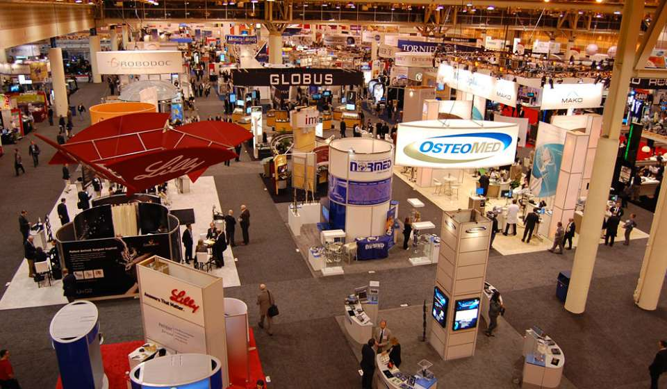 Convention Floor In Use