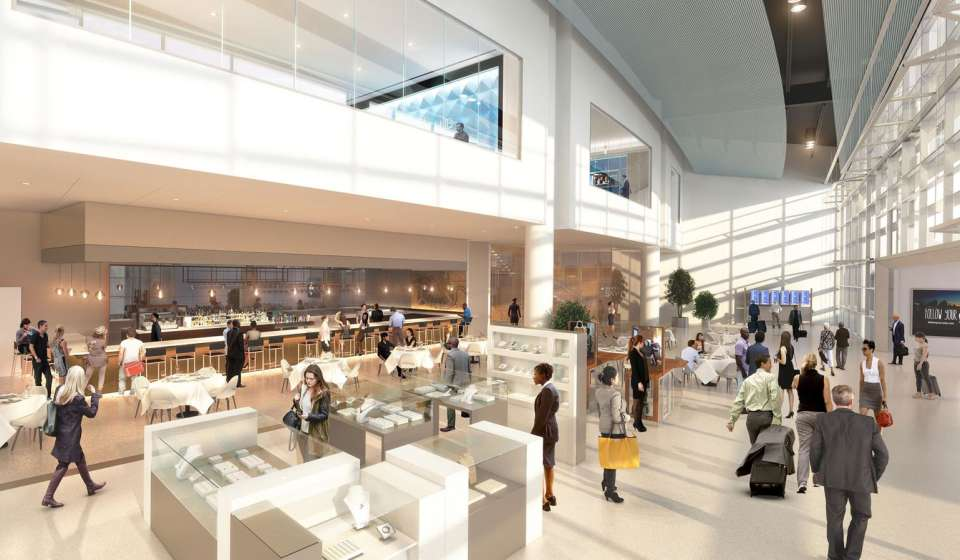 The Concessions Area (rendering)
