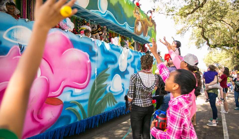 Krewe of Femme Fatale - Mardi Gras Parade