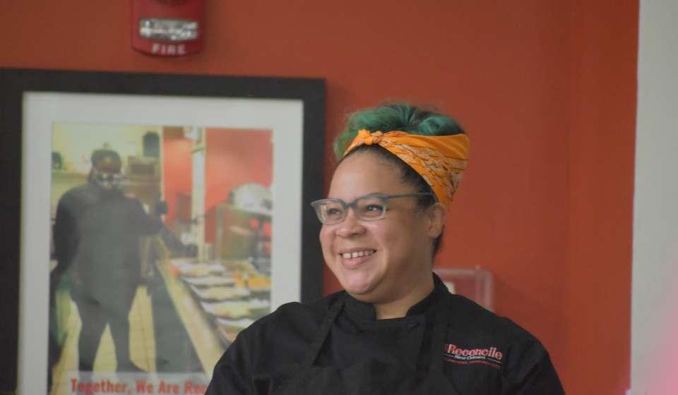Chef Martha Wiggins