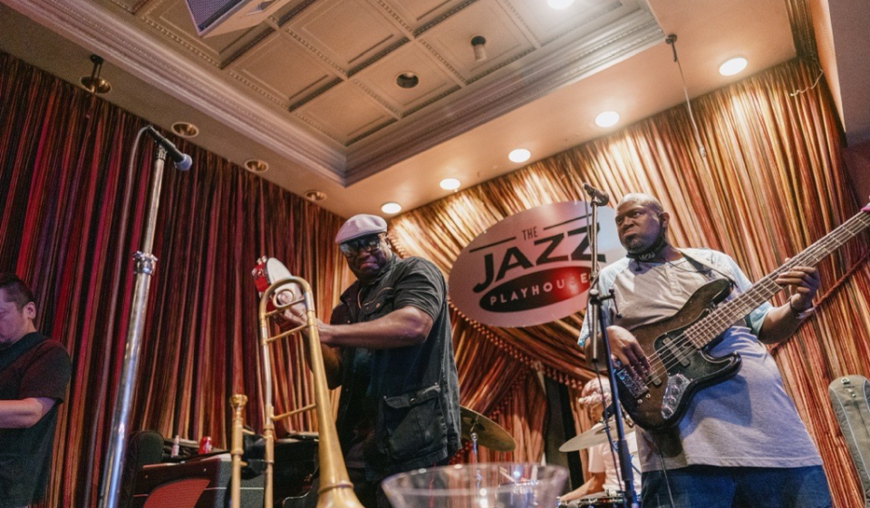 The Jazz Playhouse, Big Sam + Friends