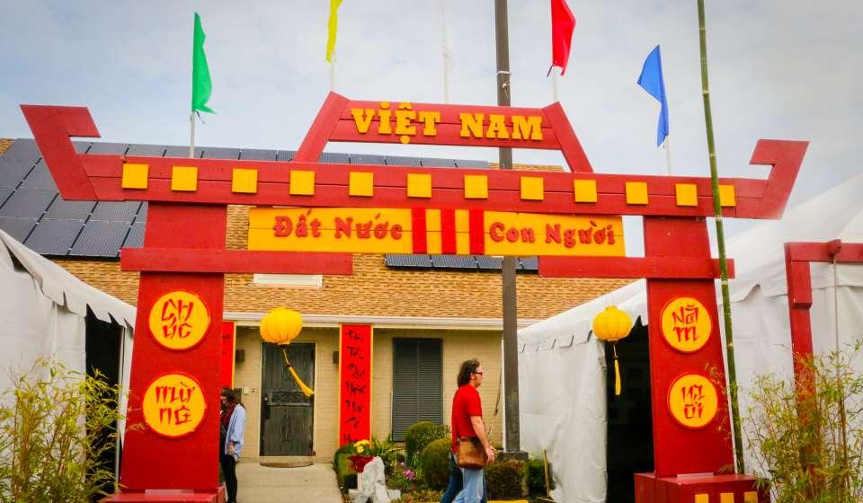 Tet Vietnamese New Year Festival