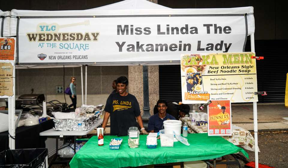Miss Linda the Yakamein Lady