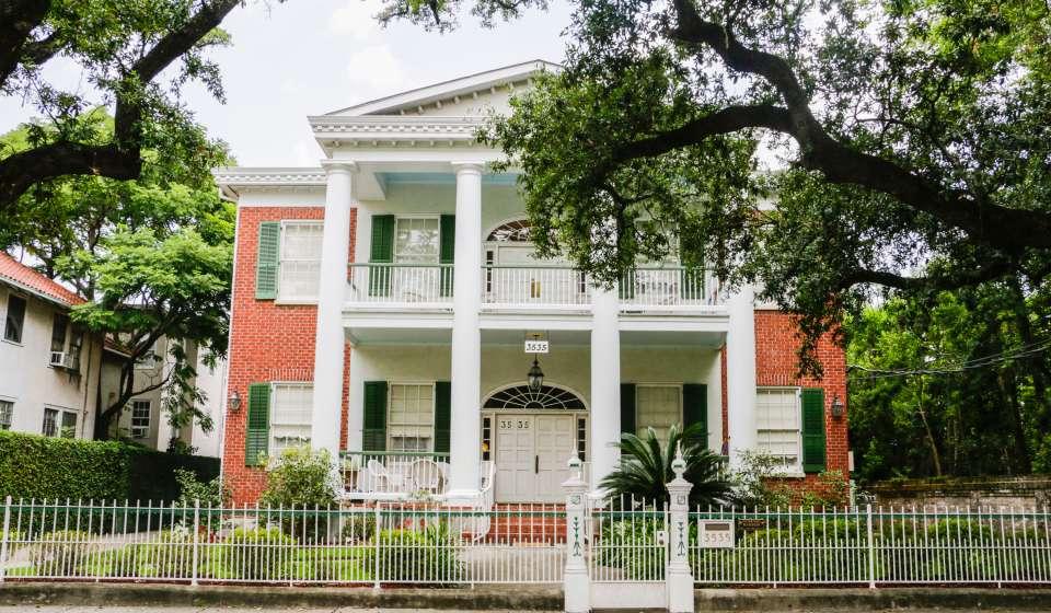 Hubbard Mansion Exterior