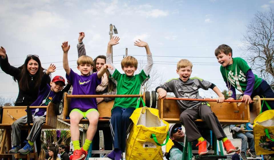 Desfile do Krewe of Endymion - Samedi Gras